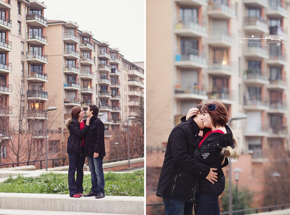 Séance photo en amoureux toulouse