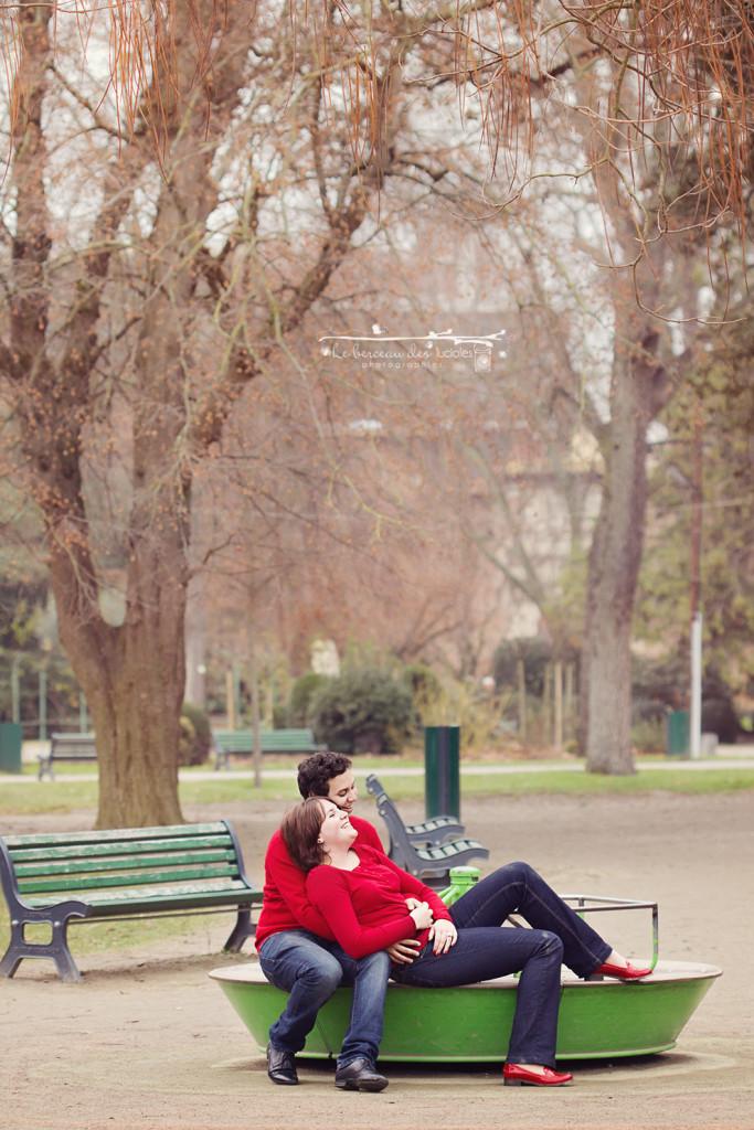 Séance photo couple parc toulouse