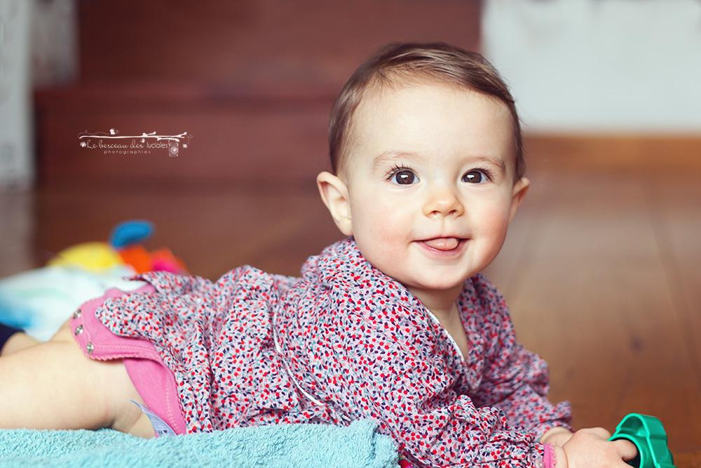 Portraits de bébé photographe Toulouse