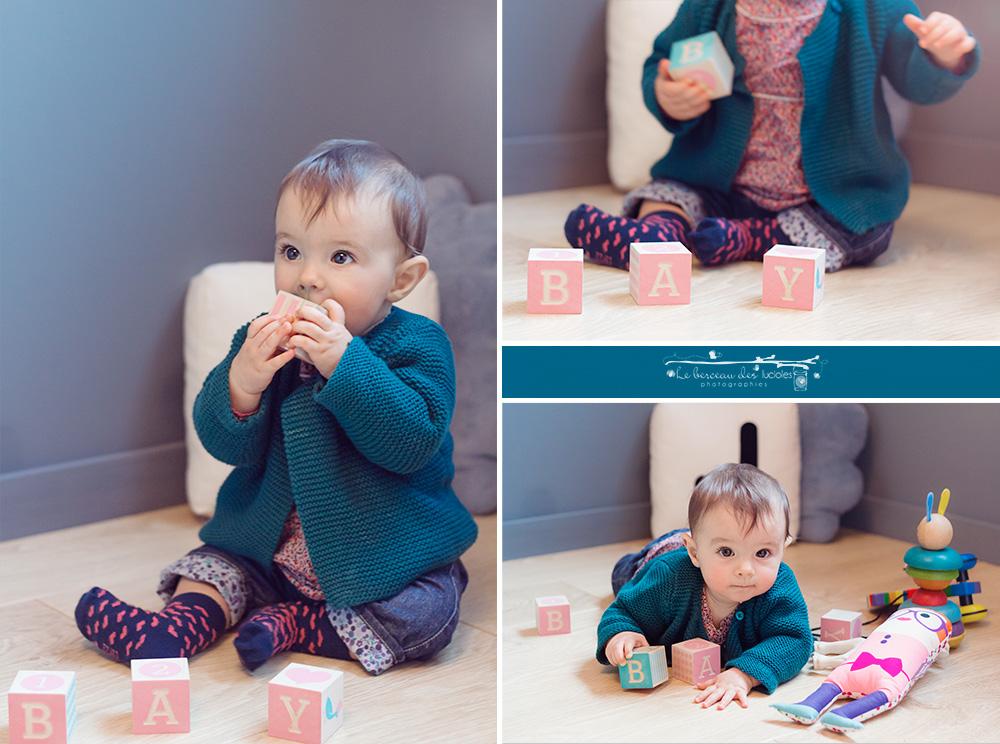 Toulouse photographe portrait de bébé