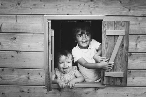 Séance photo enfant frère et soeur
