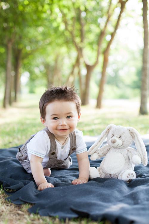 Photographe portrait bébé Toulouse