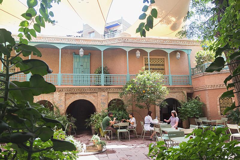 cafe jardin mrjorelle