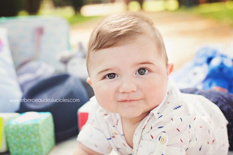portrait bébé à Toulouse