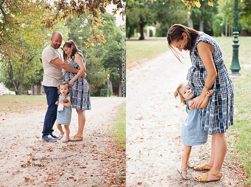 Séance grossesse en famille