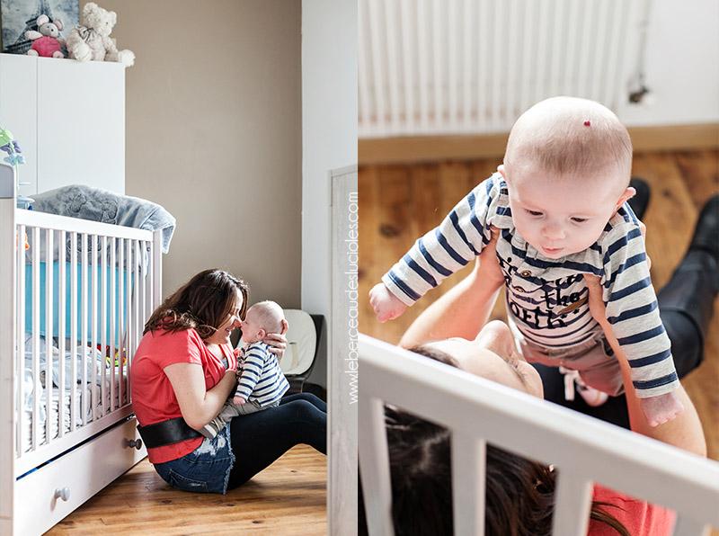 Photographe bébé lifestyle Toulouse 2