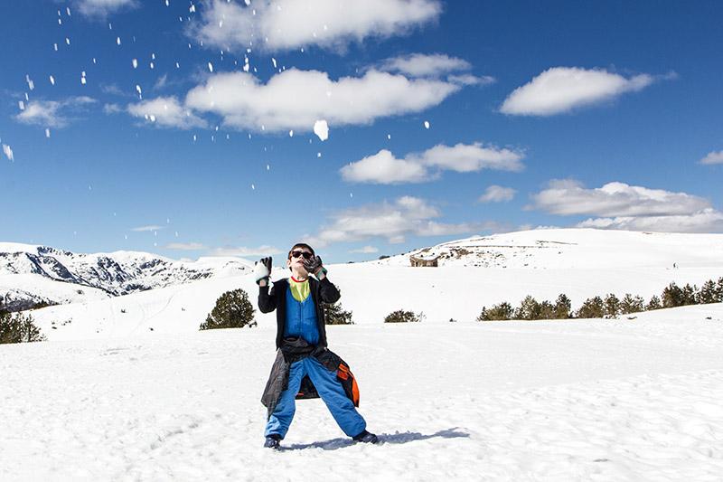 Plateau de beille  bataille boules de neige 2