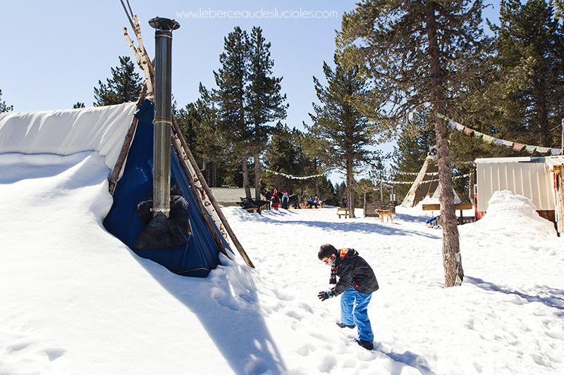 Plateau de beille  bataille boules de neige 3