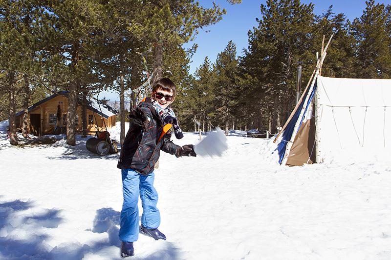 Plateau de beille  bataille boules de neige 4