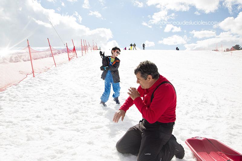 Plateau de beille  bataille boules de neige 5
