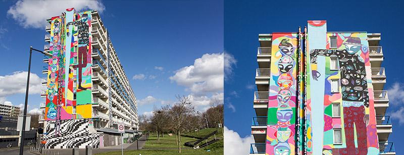 Street Art Zuid Oost Amsterdam1