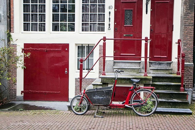 Vélo rues Amsterdam