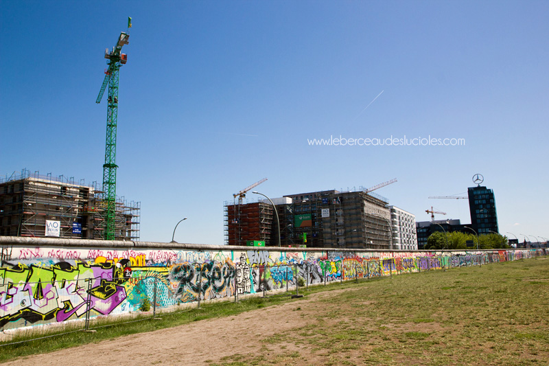 Construction promoteurs East Side Gallery Berlin