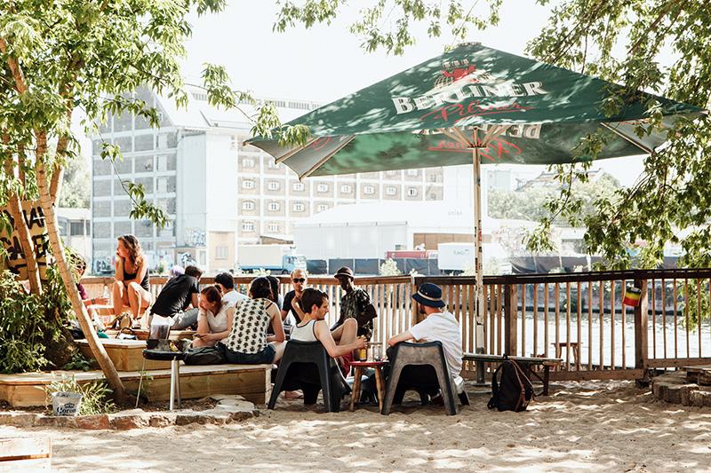 Bar de plage Yaam berlin