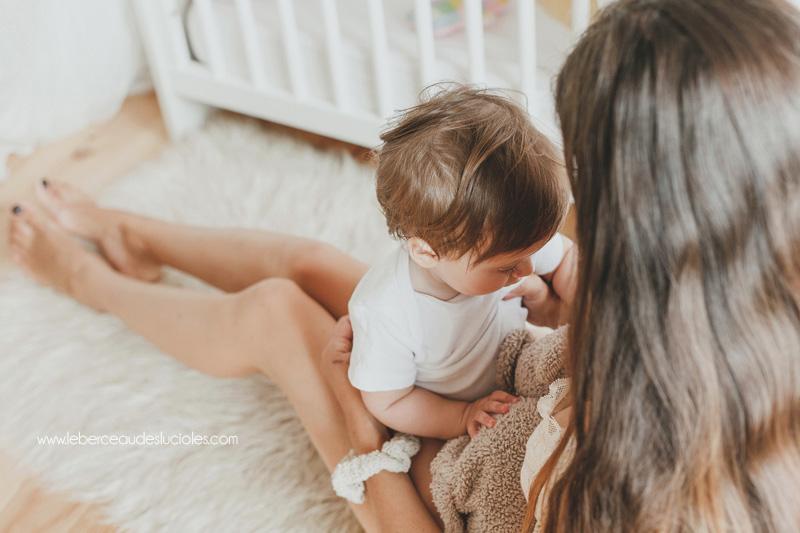 Photographe lifestyle bébé