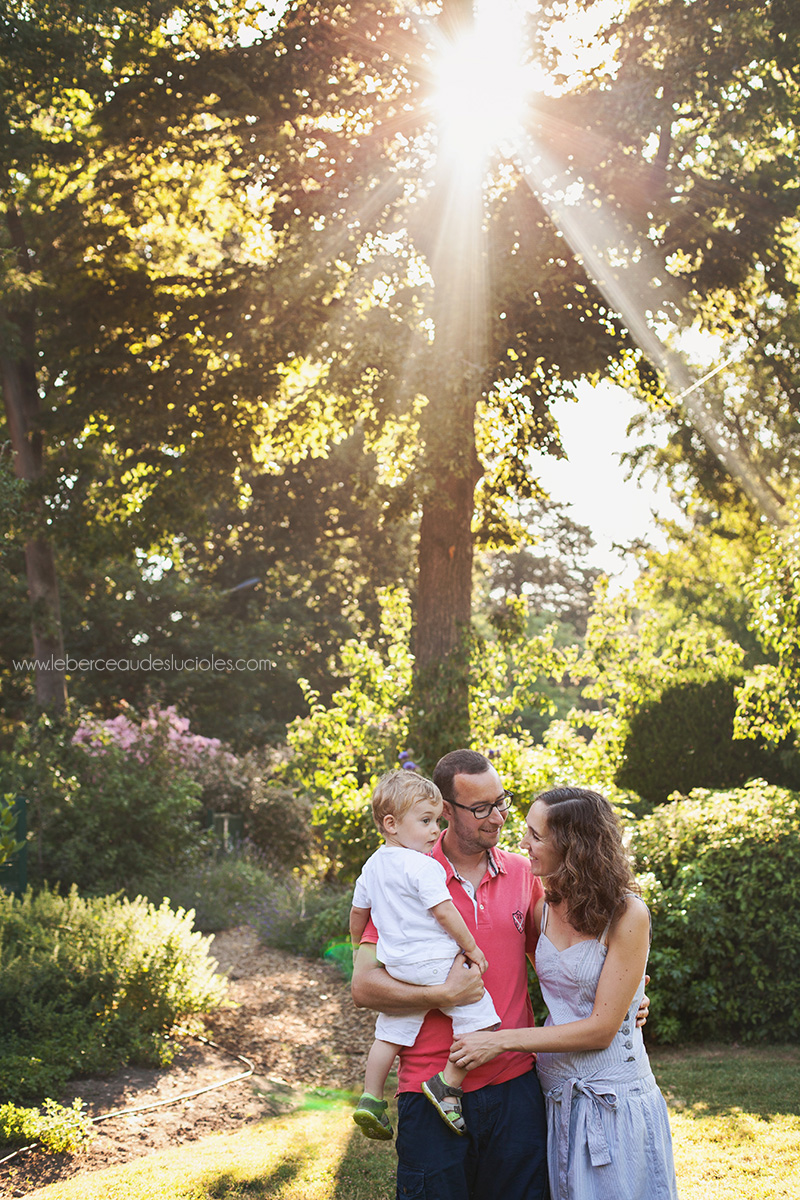 Séance photo famille Toulouse Jardin des Plantes