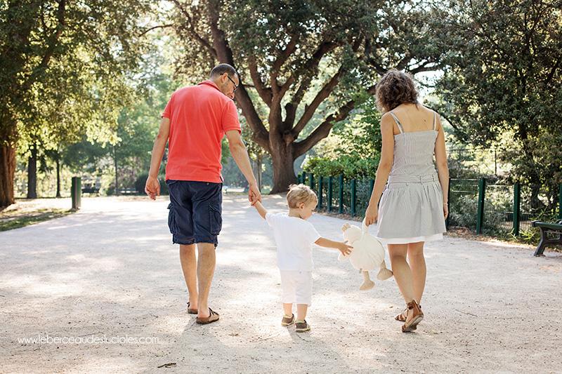 Séance photo famille en extérieur toulouse