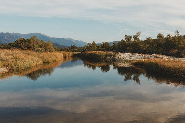 fleuve-etang-ostriconi-haute-corse