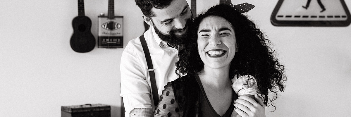 séance photo en amoureux couple