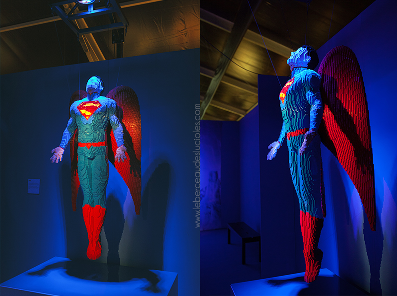 Exposition Art Lego DC Comics Londres