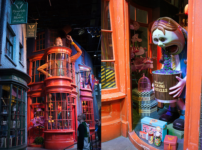 Studio warner bros harry potter london chemin traverse bonbons