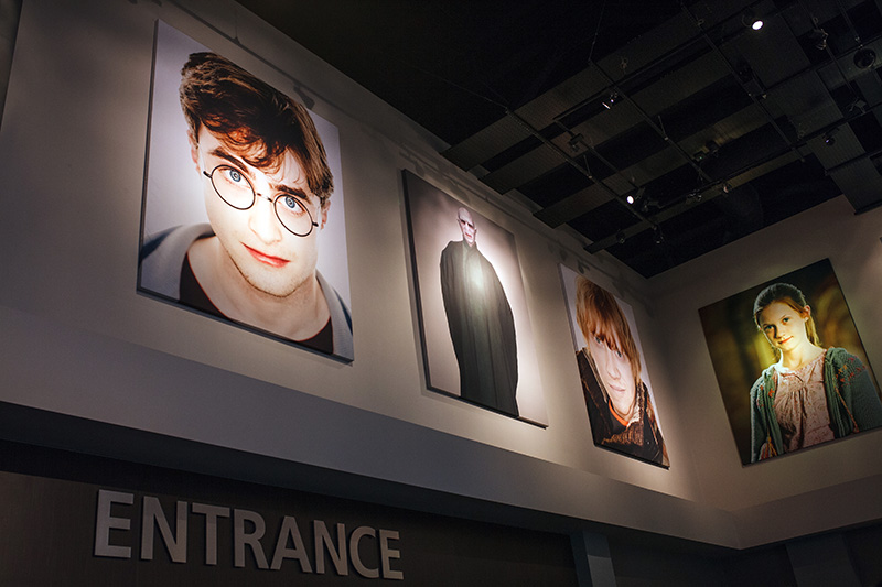 Studio warner bros harry potter london entrance
