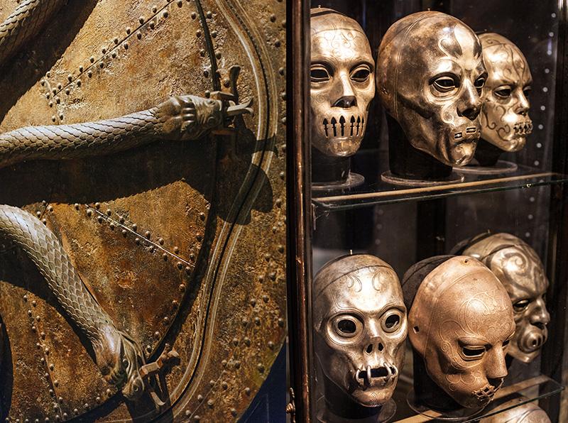 Studio warner bros harry potter london mange-mort