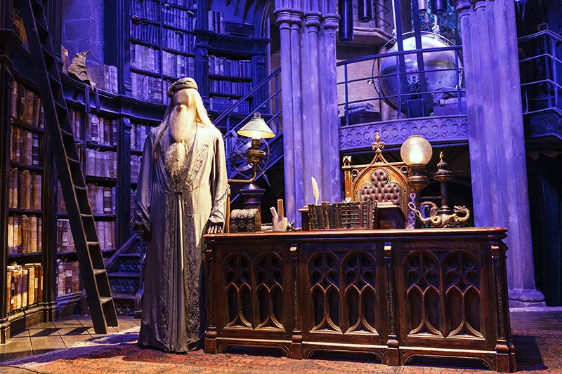 Studio warner bros harry potter londres bureau dumbledore