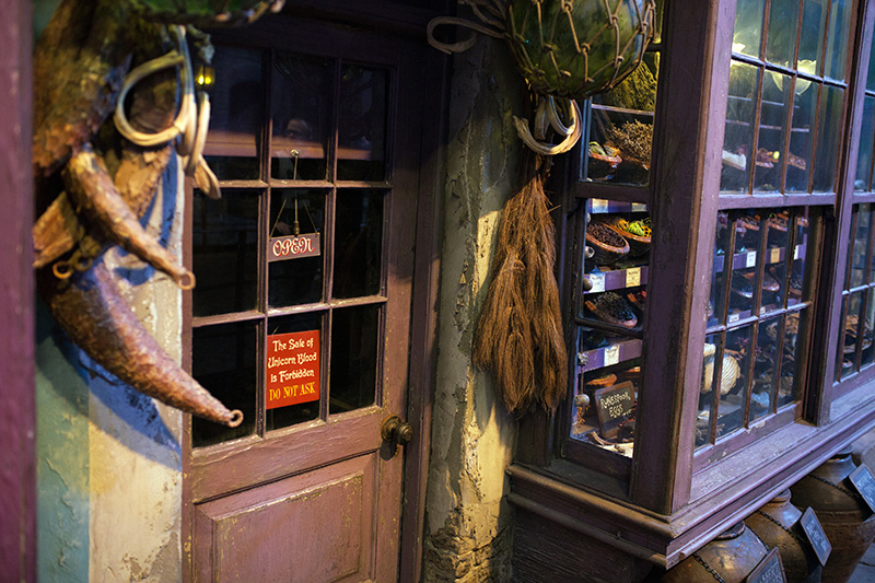 Studio warner bros harry potter londres chemin de traverse boutiques