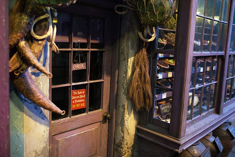 Studio warner bros harry potter londres chemin de traverse boutiques