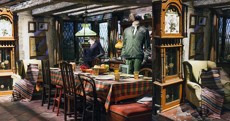 Studio warner bros harry potter londres maison weasley