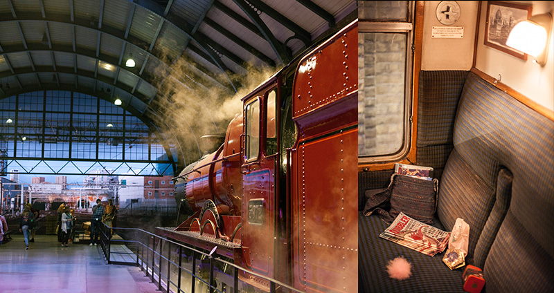 Studio warner bros harry potter londres poudlard express