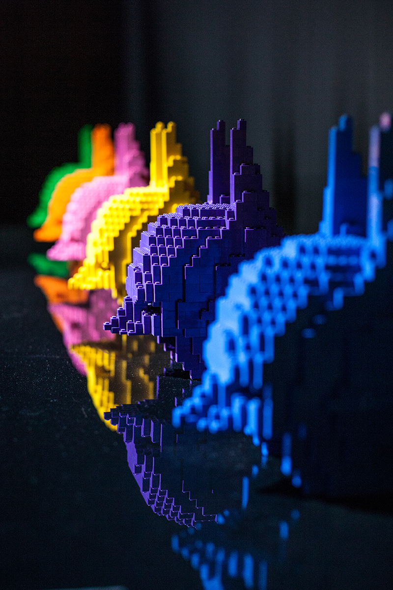 art of the brick DC super heroes londres batman