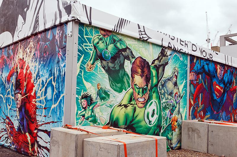 art of the brick DC super heroes londres