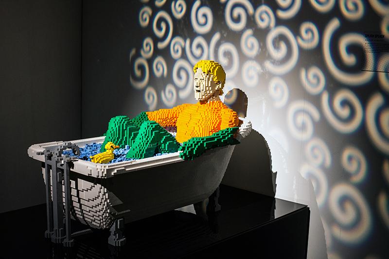the art of the brick DC super heroes londres bath