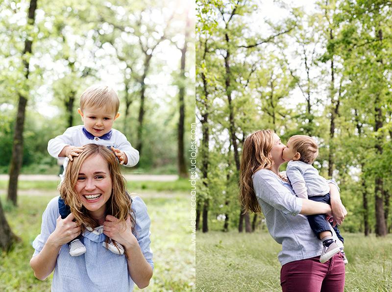 Photographe famille lifestyle en extérieur