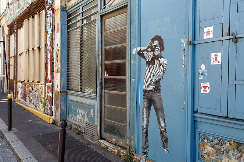 Street art quartier Belleville Paris 3