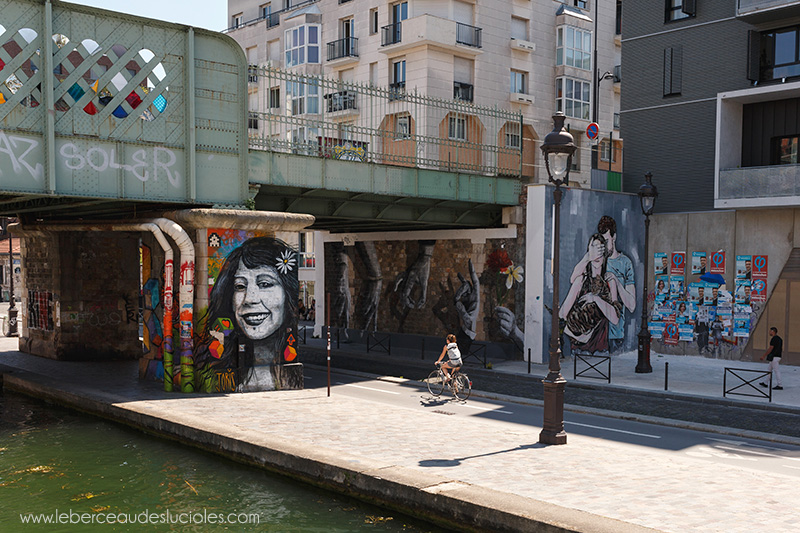 Street art quartier La Villette Paris 2