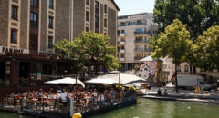 canal quartier La Villette Paris