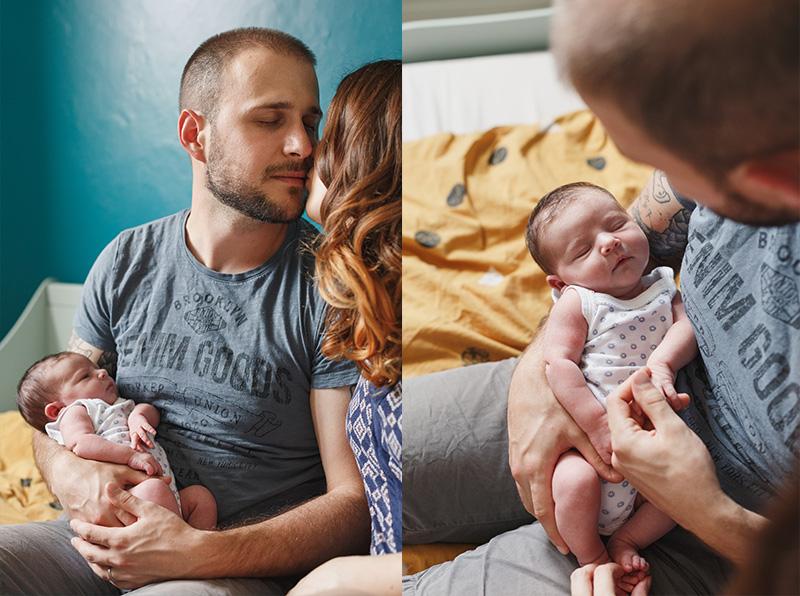 Photographe bébé papa toulouse