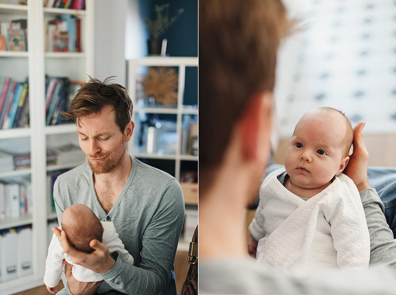 sénce photo bébé en famille