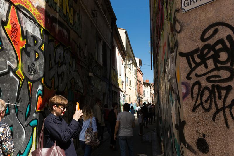 street art Toulouse rue Gramat