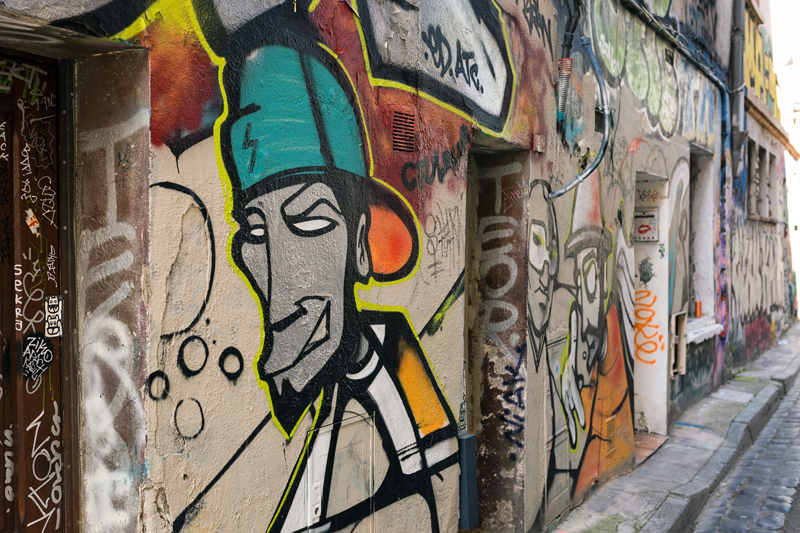 street art Toulouse rue Gramat 2