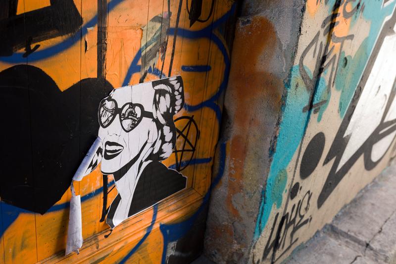 street art Toulouse rue Gramat 3
