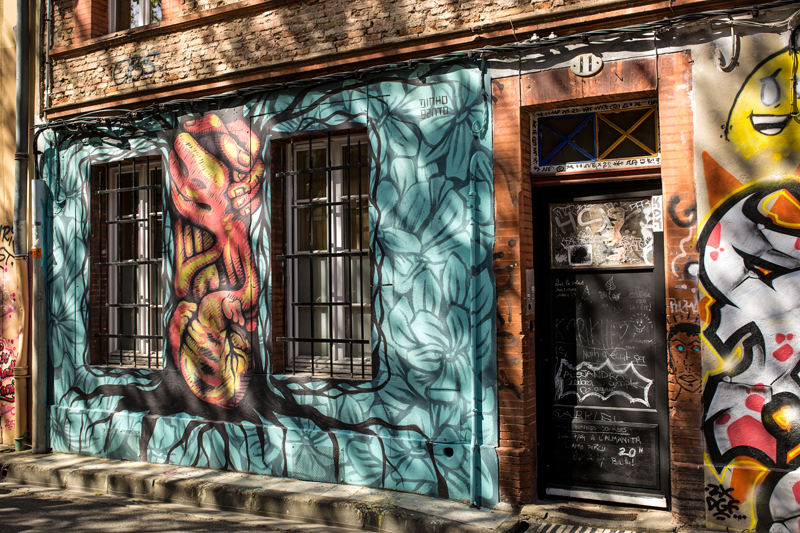 street art Toulouse rue Gramat 5