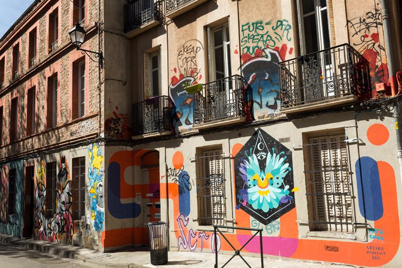 street art Toulouse rue Gramat 7