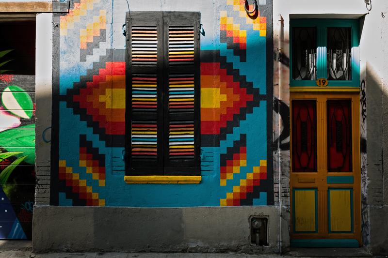 street art Toulouse rue Gramat Latino graff festival