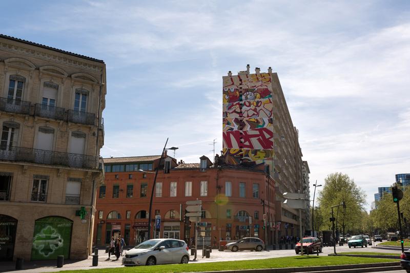 street art toulouse fresque arnaud bernard