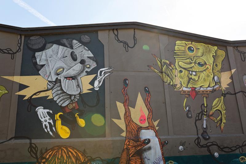 street art Toulouse 100taur