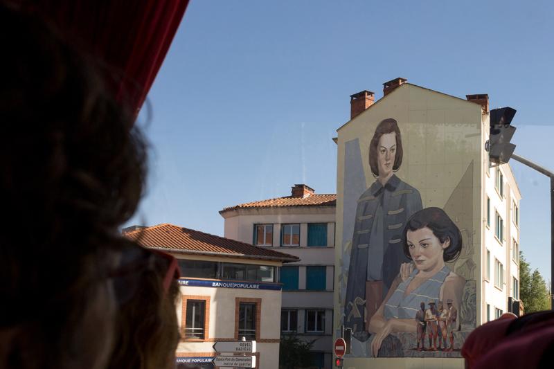 street art Toulouse Aryz